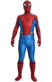 [Platinum] MCU Homecoming S-guy Puff Printed Spandex Lycra Costume Set