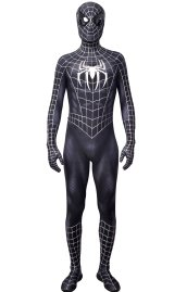 [Platinum]Tobey S-guy Puff Painted Spandex Lycra Costume with Symbols and Upgraded Lenses