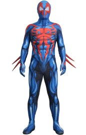[Platium]2099 S-guy Printed Spandex Lycra Bodysuit with Lenses Soles and Fins