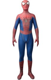 AMAZING SPIDER-MAN 2 Costume with Puff Printed Details, Symbols and Lenses