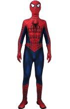 AMAZING SPIDER-MAN 2 Dye-Sub Costume with Puff Painted Weblines and Symbols