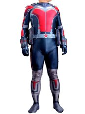 Antman Costume | Printed Spandex Lycra Zentai Suit with 3D Muscle Shading
