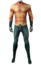 Aquaman Movie V3 Printed Spandex Lycra Costume Pattern By 4NeoDesign