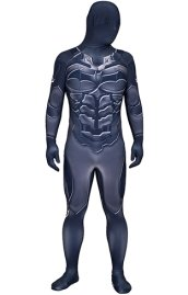 Arkham Knight B-guy Printed Spandex Lycra Costume with 3D Muscle Shading