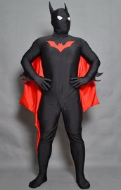 B-guy Beyond Black and Red Spandex Lycra Bodysuit with Wings