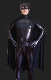 B-guy! Deluxe Shiny Metallic Zentai Costume
