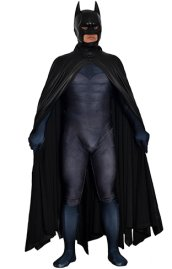 B-guy Printed Spandex Lycra Costume with 3D Muscle Shading and Cape