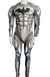 B-guy Printed Spandex Lycra Costume with Chest Symbol and Muscle Paddings