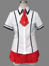 Baka and Test! Female Summer School Uniform For Cosplay