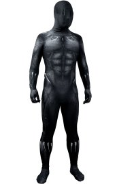 Black Panther Printed Spandex Lycra Costume Designed By Arachnid