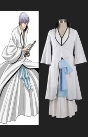 BLEACH-Ichimaru Gin Arrancar Cosplay Costume