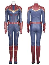 Captain Marvel Cosplay Costume Set