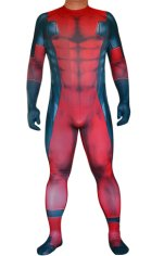Deadpool No Hood | 3D Muscle Shades Printed Zentai Suit