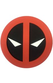 Deadpool Rubber Symbol Style 3