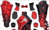 Dragon Bug | Miraculous Ladybug Printed Spandex Lycra Costume