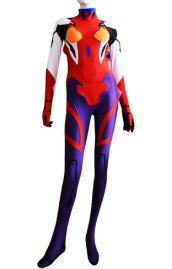 EVA Costume| Purple and Red Spandex Lycra Catsuit