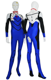 Evangelion Costume | Blue and Black Spandex Lycra Catsuit