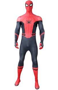 Far From Home S-guy Dye-Sub Costume with Soles Lenses and Symbols Attaced