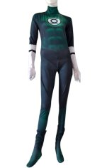Green Lantern Zentai | Printed Spandex Lycra with 3D Muscle Shading