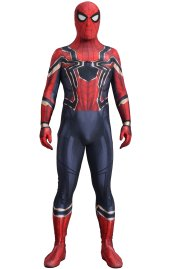 Iron-Spider Homecoming Printed Spandex Lycra Costume with 3D Muscle Shadings