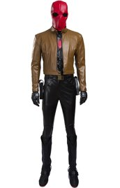 Jason Todd RedHood Robin Cosplay Costume from B-guy