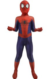 Kid The Amazing S-guy 2 Printed Zentai Suit with 3D Muscle Shading and Lenses