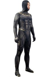 KILLMONGER GOLD JANGUAR Printed Spandex Lycra Costume