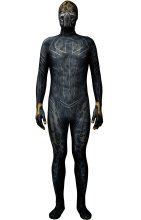 KILLMONGER GOLD JANGUAR Printed Spandex Lycra Costume without Golden Details
