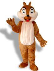 Lovely Squirrel With One Tooth Mascot Costume