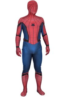MCU S-guy Printed Spandex Lycra Costume with Leather
