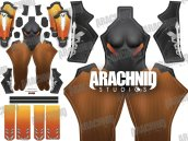 MERCY Overwatch Dye-Sub Printed Spandex Lycra Costume