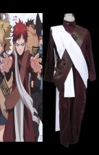 Naruto-Gaara Cosplay Costume 3th