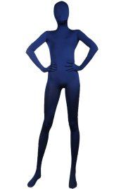 Navy Full Body Suit | Full-body Spandex Lycra Unisex Zentai Suit