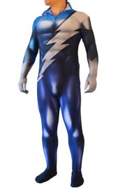 Quicksilver Costume | X-man Spandex Printed with 3D shades