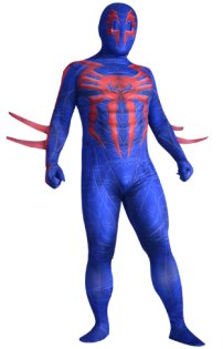 S-guy 2099 Printed Spandex Lycra Zentai Suit with 3D Muscle Shades