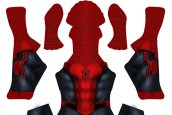 S-guy Cross Verse Printed Spandex Lycra Costume