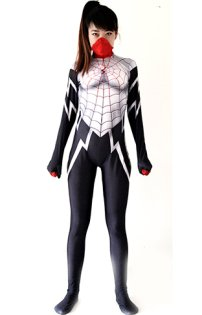 Silk Costume | Printed Spandex Lycra Silk Spider-Woman Costume