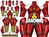 SPIDER-WOMAN Dye-Sub Printed Spandex Lycra Costume