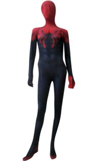 Superior S-guy Costume | Printed Spandex lycra Zentai Suit with 3D Muscle Shades