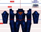 Superman and Lois V5 Printed Spandex Lycra Costume