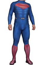 Superman Costume 2 | Printed Spandex Lycra Zentai Suit with 3D Muscle Shading