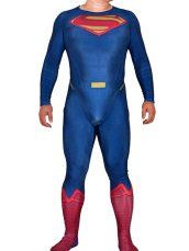 Superman Costume | Printed Spandex Lycra Zentai Suit with 3D Muscle Shading