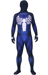 Symbiote S-guy Taglia Printed Spandex Lycra Costume with 3D Muscle Shadings
