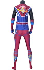 The New Day WWE Printed Costume with Vest Pants and Gloves