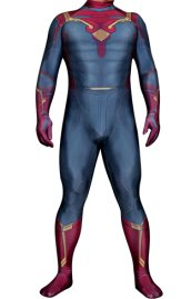 The Vision Costume | Printed Spandex Lycra Zentai Bodysuit
